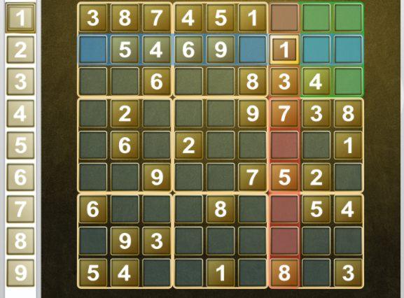 KSudoku screenshot