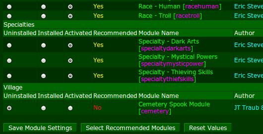 lotgd-modules