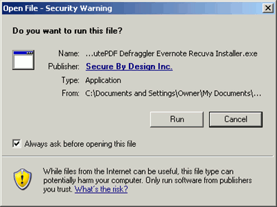 ninite - run installer