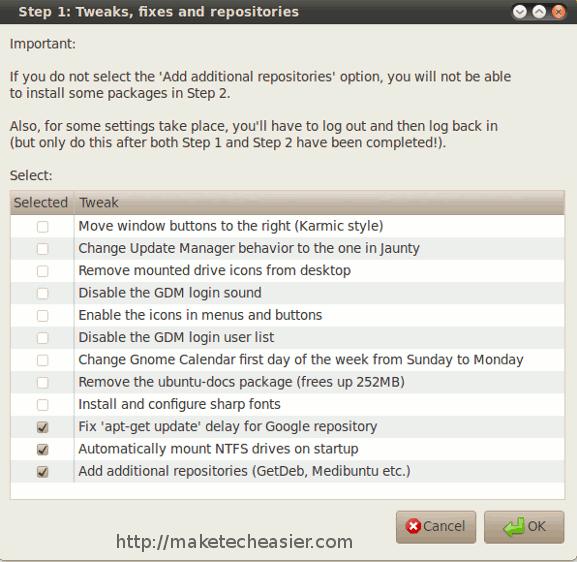 ubuntu-start-tweaks