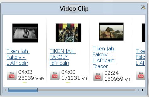 Amarok videos via YouTube