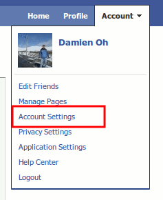 facebook-account-setting