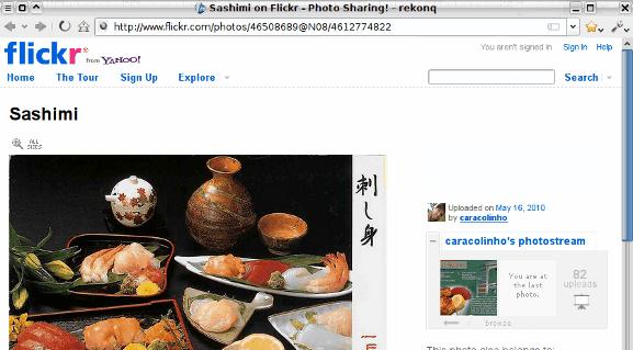 Rekonq on Flickr.com