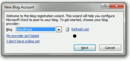 word2010-wordpress-setup