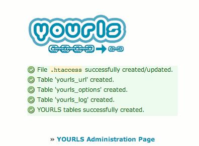 yourls-install