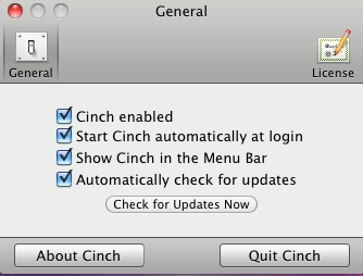 cinch-preferences