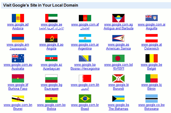 google-local-domain