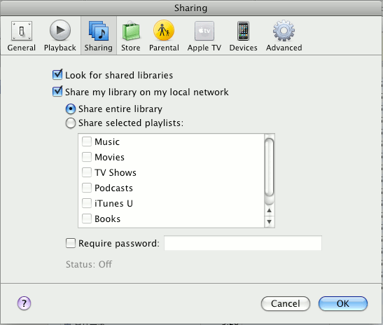 itunes-remote-share-library