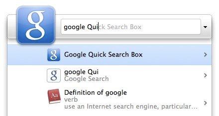Google QSB