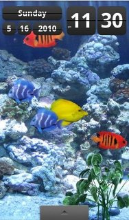 android wallpaper aquarium