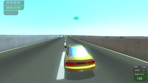 Tile Racer stunt track racing