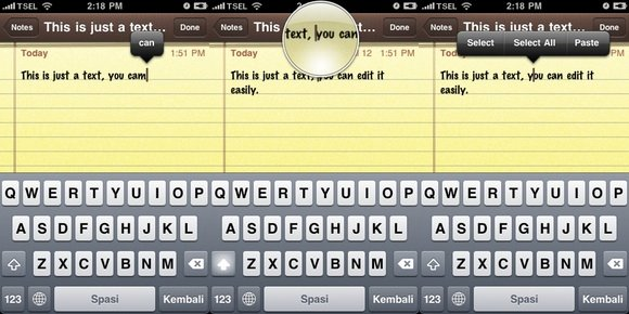 iPhone Shortcuts - Text Editing
