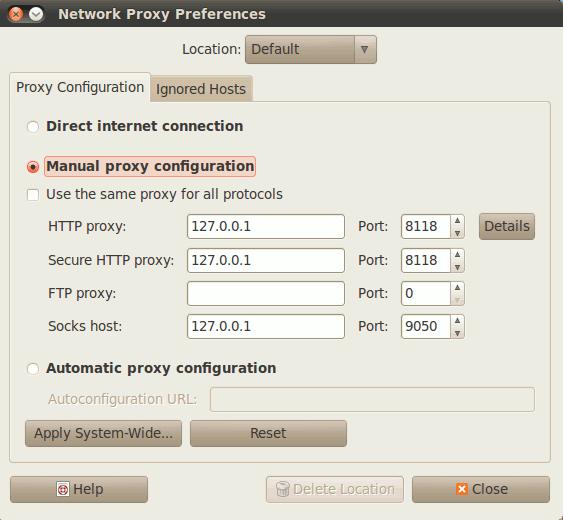 tor-chrome-proxy-settings