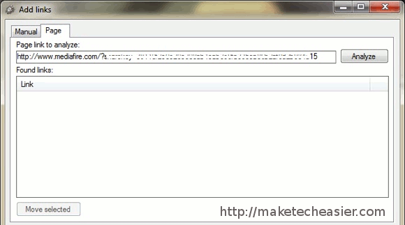 MDownloader - Adding_Links_-_Analyzing_Page.jpg