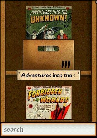 vintage comics - browse