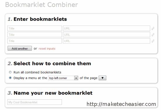 combine-bookmarklets