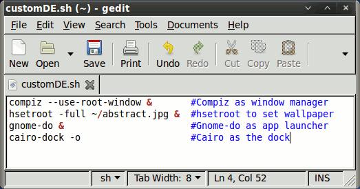 customde-script