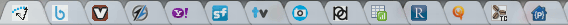 chrome - tab bar