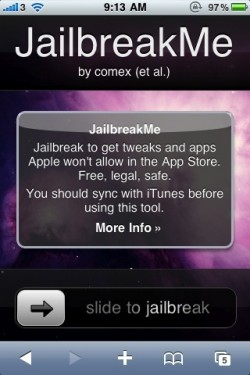 iPhone-SlideToJailbreakMe