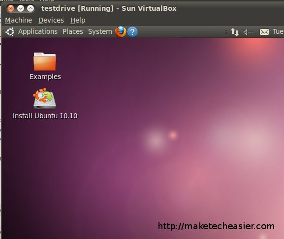 testdrive-in-virtualbox