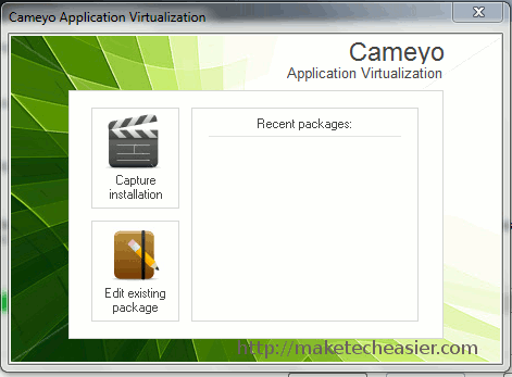 cameyo-capture-installation