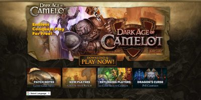 Dark Age Of Camelot Server Featured