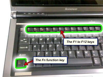 Disable laptops touchpad using Function key