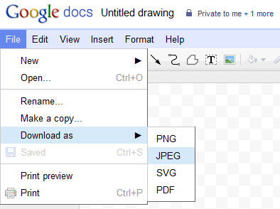 Google Docs Drawing Download