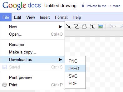 Google Docs Drawing Download