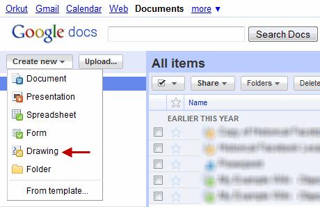 Create Drawings in Google Docs