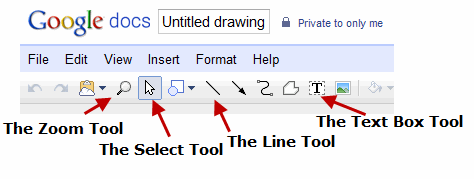 Google Docs Drawing Basics