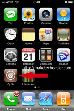 iPhone-Cydia