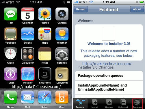 iPhone-Springboard-Install-Sources
