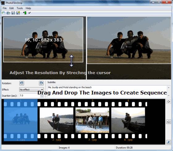 PhotoFilmStrip - Create Video Sequence
