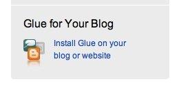 GetGlue for Blog