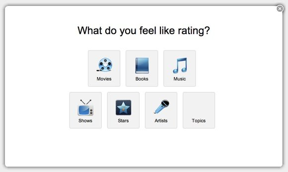 GetGlue - Quick Rating