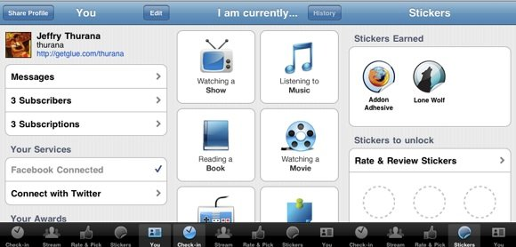GetGlue iPhone