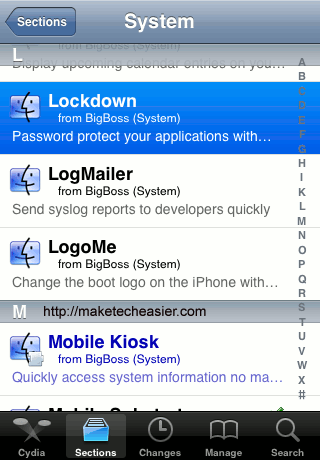 Cydia-Select-Lockdown