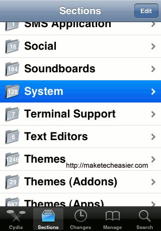 Cydia-System
