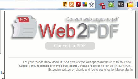 chromepdf-web2pdf