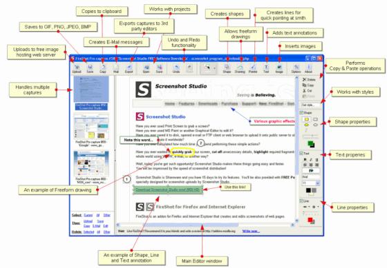 Fireshot- Firefox addon for Image Handling