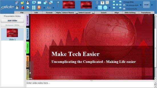 Glideos Application - Presentation