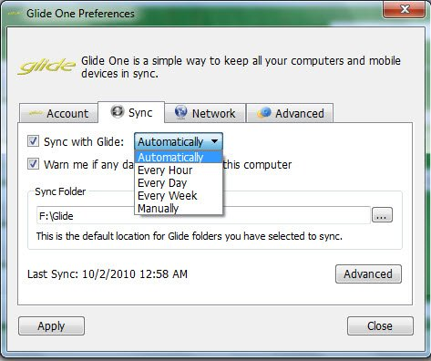 Sync Folders with Glide OS