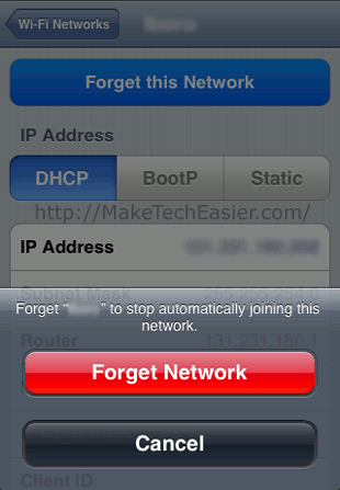 iPhone-Forget-Network