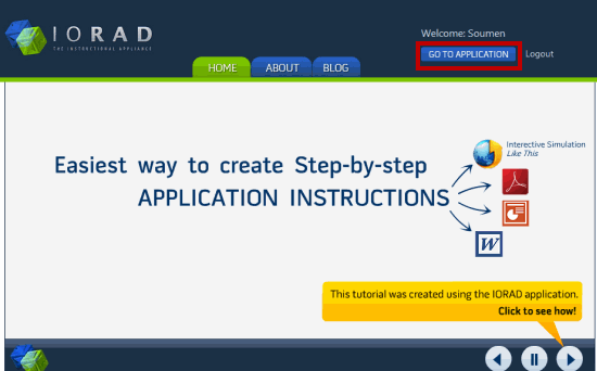 Start Screen Recording With IORAD