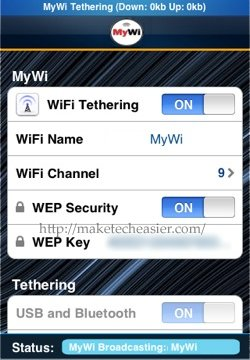 MyWi-Tethering-On