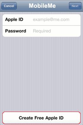 iPhone-Login-MobileMe