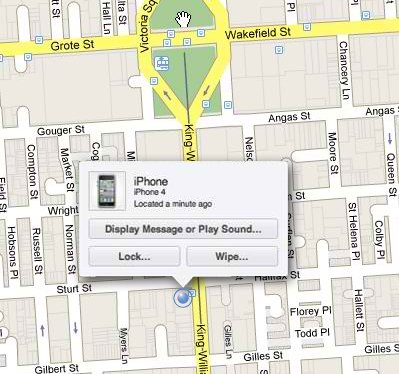 iPhone-Map-Location