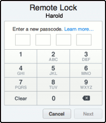 iPhone-Remote-Lock