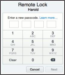 iPhone-Remote-Lock